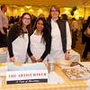 Andrea Lekberg  (r) owner of The Artist Baker along with her staff -  Taste of Morristown at the Hanover Marriott in Whippany, NJ 03/04/2013 - Photo by David Shapiro