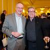 Stan Olszewski (l) with Morristown Rotary's Tom Harrigan - Taste of Morristown at the Hanover Marriott in Whippany, NJ - Photos by David Shapiro