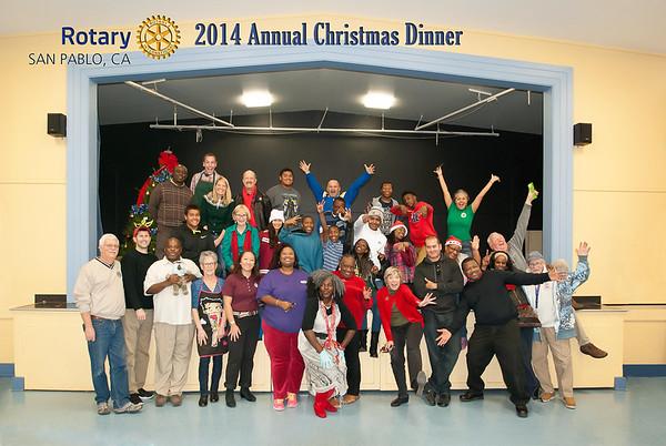 2014 San Pablo Rotary X-Mas Dinner
