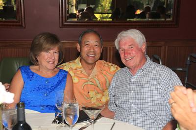 Barb & Bill Annan with Howard Kunihiro