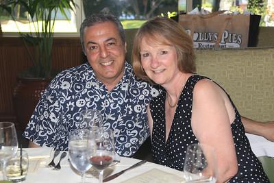 New member AG Avari & his wife Kelly (President of the Women's Division of the GG Chamber of Commerce)