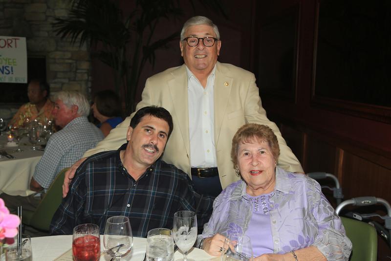 Danny, Harry & Erlene Krebs