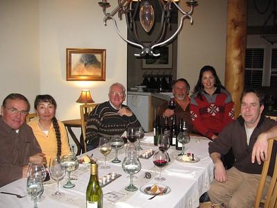 Jim, Banu, Martin, Derick, Lidia, Dave at Derick & Lidia's Photo courtesy of Allyson Walter