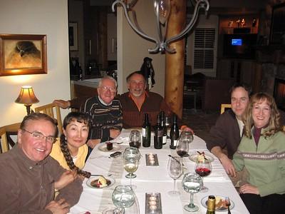 Jim, Banu, MArtin, Derick, Dave, Allyson at Derick & Lidia's Photo courtesy of Allyson Walter