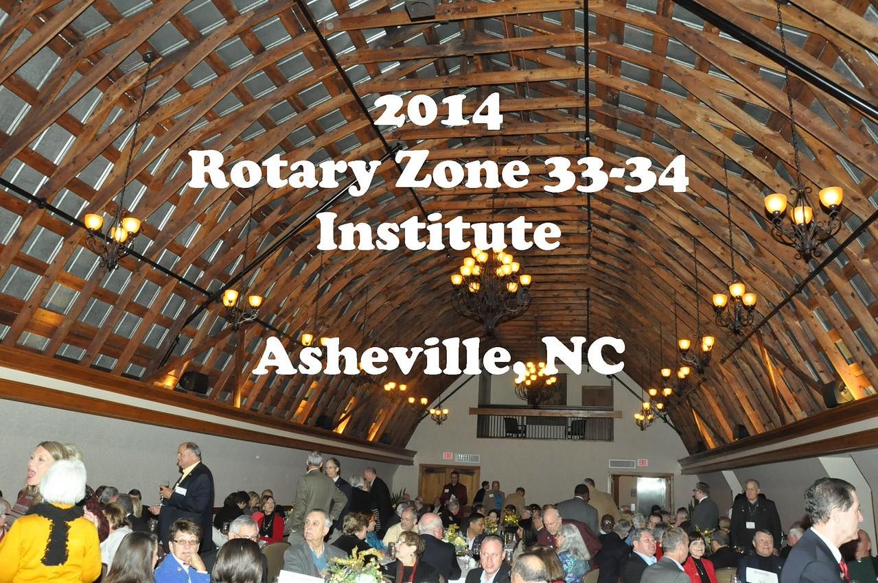 2014 Zone 33-34 Institute