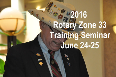 2016 Zone 33 Training Seminar