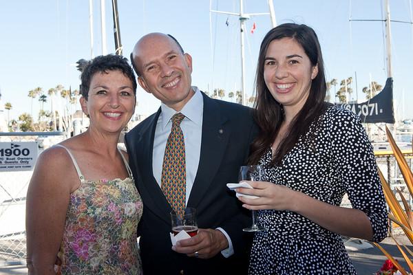 06.29.12 Rotary Club of Playa Venice Sunrise Demotion Party at the California Yacht Club