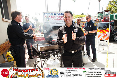 """2015 Fire Station 63 Annual Pancake Breakfast.  Hosted by Rotary Club of Playa Venice Sunrise. www.playasunrise.org. Photo by www.VenicePaparazzi.com"""