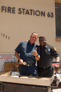 Venice Fire Station 63's Pancake Breakfast. Photo by VenicePaparazzi.com