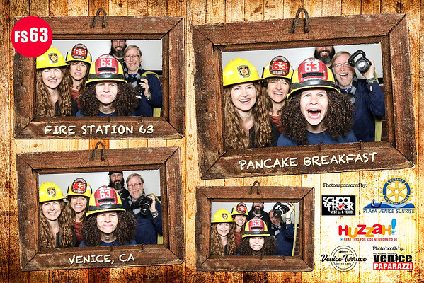 2018 Fire Station Pancake Photo Booth