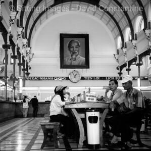 Saigon Post Office, Ho Chi Minh City, Vietnam. January 1999
