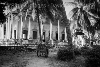 Wat Than Buddhist temple - Phnom Penh, Cambodia. January 1992