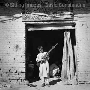 Wazir & Sons Arms Store - Darra Adam Khel, North West Frontier Province, Pakistan. November 1995
