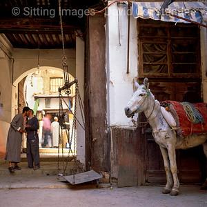 Fez Souk, Fez, Morocco May 2004