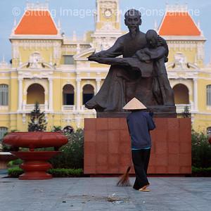 Ho Chi Minh City, Vietnam. January 1992