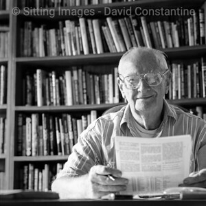 Arthur C Clarke – Colombo, Sri Lanka. July 1996