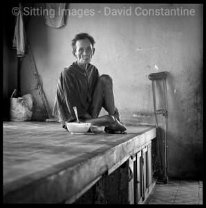 Re-education Camp Portrait - Outside Ho Chi Minh City, Vietnam. January 1992