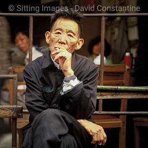 Wrinkled Smoker – Guangzhou, China. November 1992