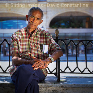 Blue-eyed man portrait – Havana, Cuba. April 2006