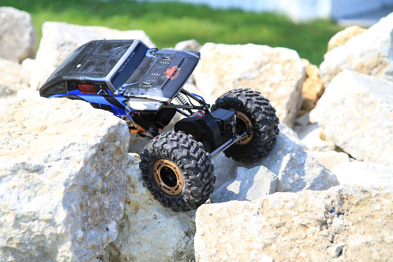 Remote control rock crawlers.