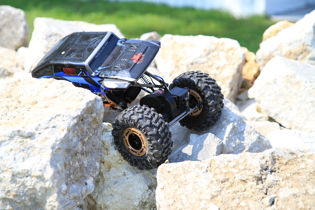 Remote control rock crawlers.