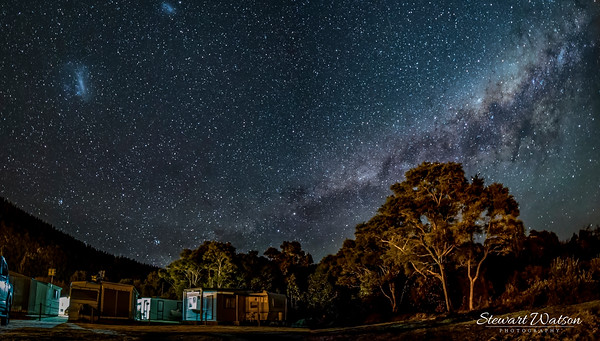 Taupo camping under the stars