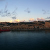 Panorama from the Sports Deck-Rotterdam  Valletta Inlet