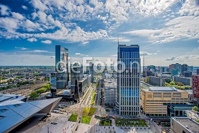 Rotterdam Centraal Station en omgeving