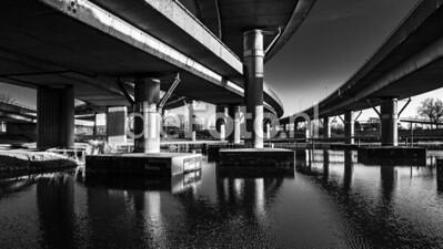 Rotonde Kleinpolderplein Rotterdam ZW