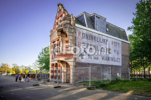 Villa van Waning Nijverheidsstraat Rotterdam