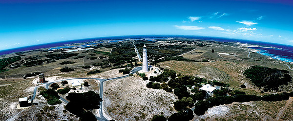 R14-Rottnest Lighthouse Aerial