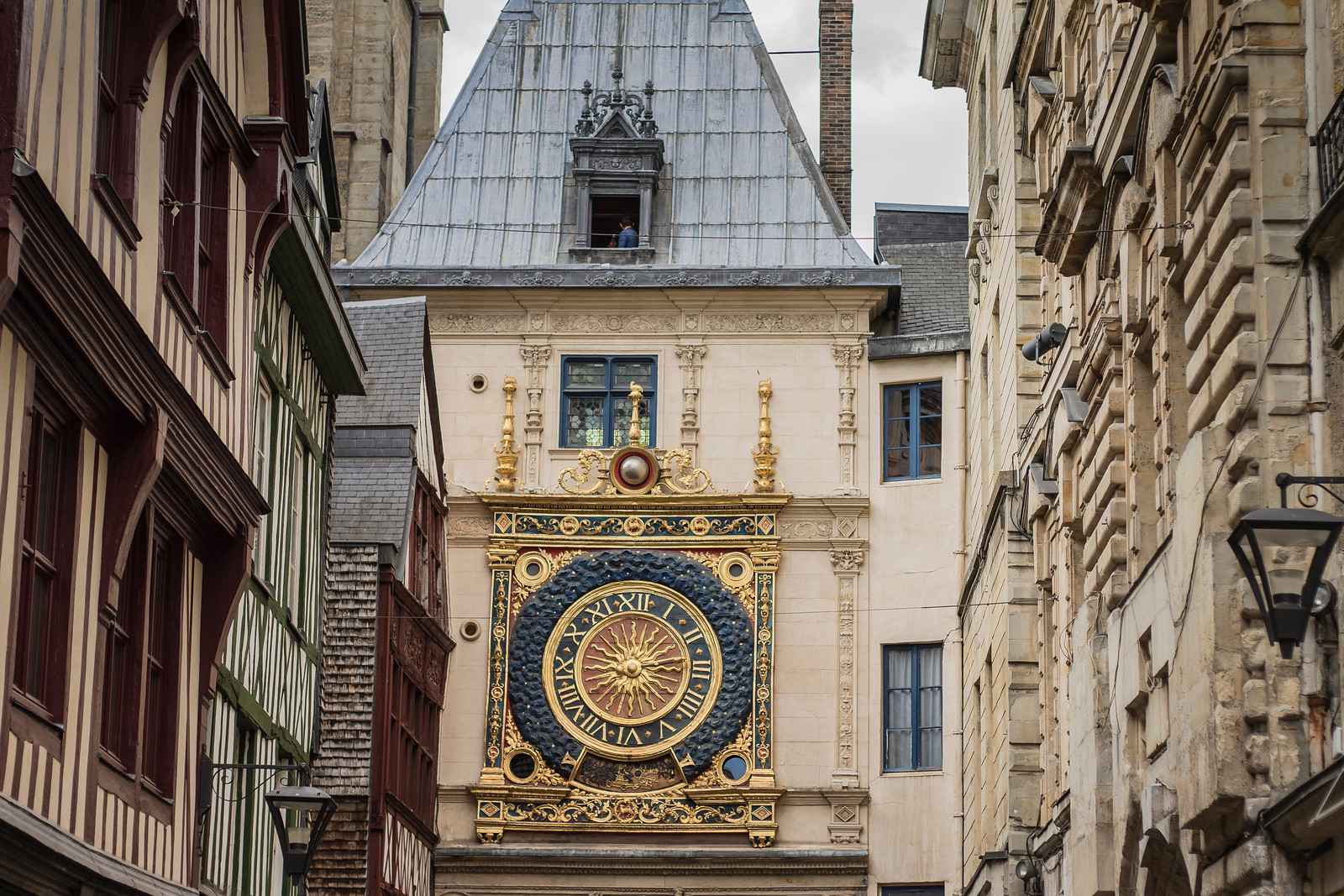 Things to do in Rouen - Gros-Horloge - The oldest working clock mechanism in Europe