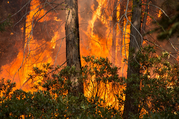 Burning Interior Islands