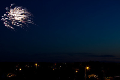 Roughrider Days Fireworks