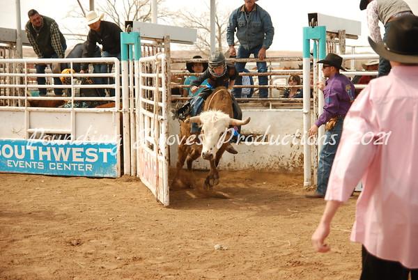 Steer Riding Sun 3-11-12