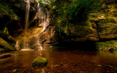 Roughting Linn Waterfall.