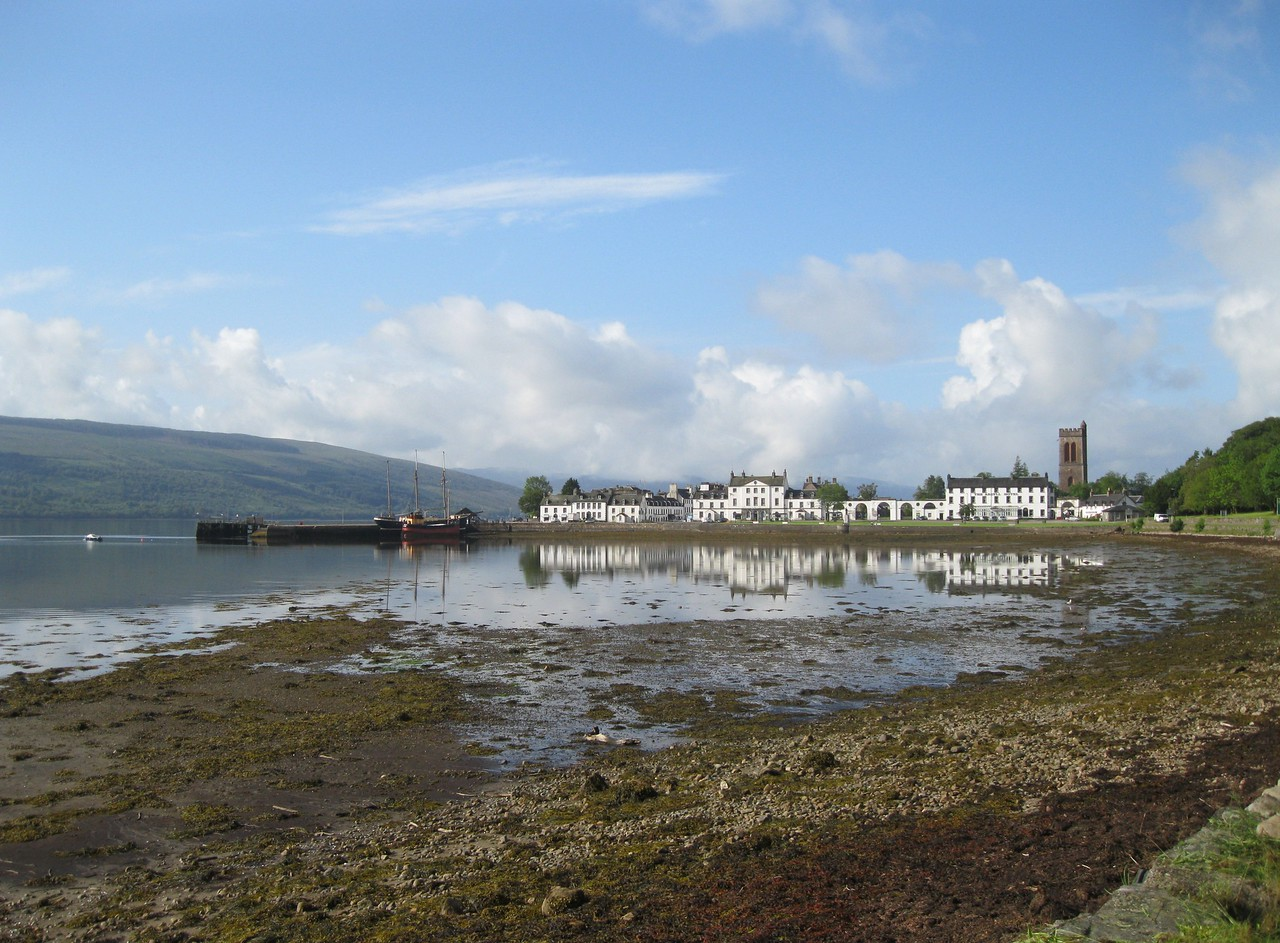 Looking back to Inveraray