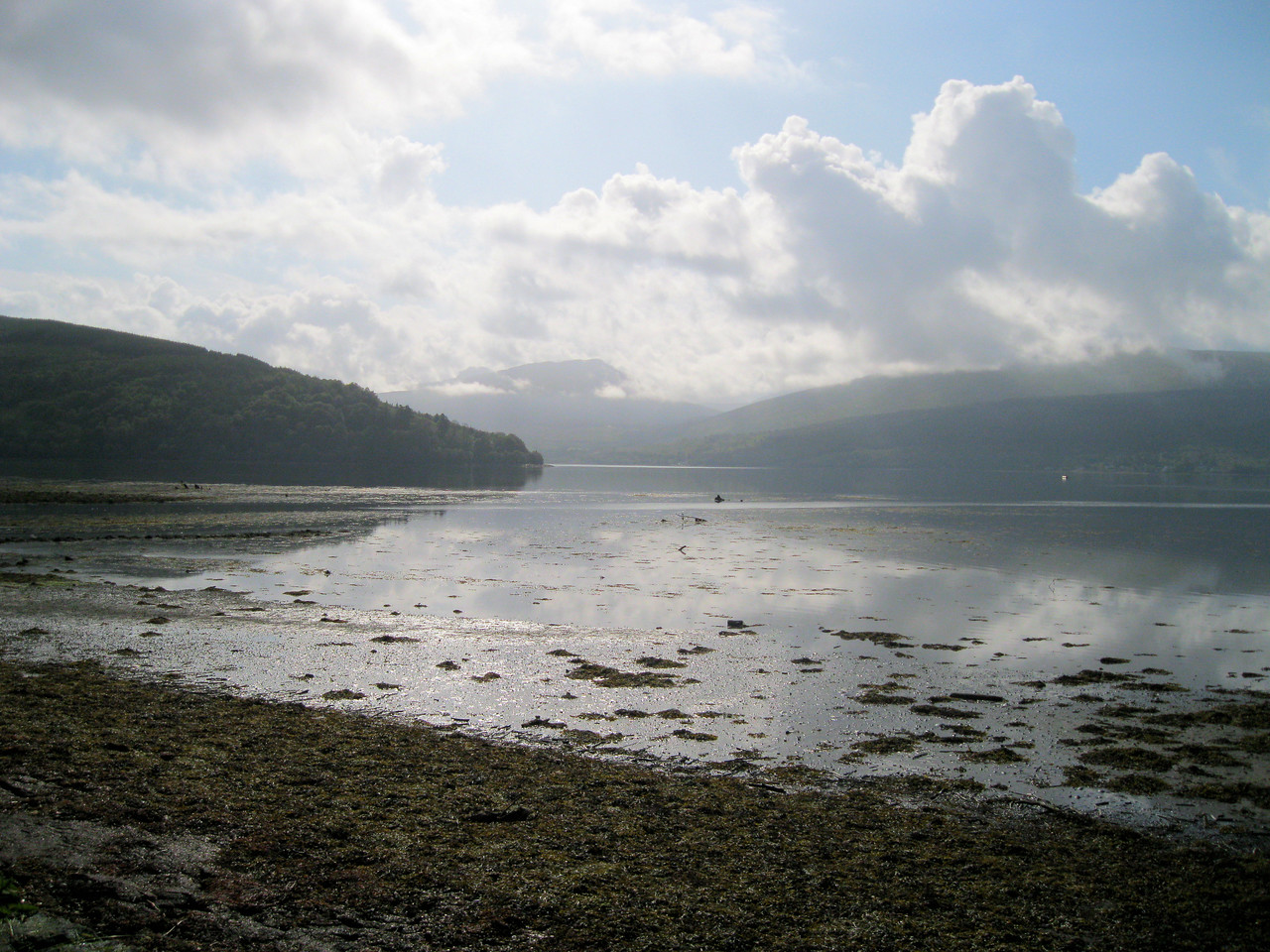 View up Loch Fyne from Inveraray