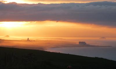 Sunset over Torcross