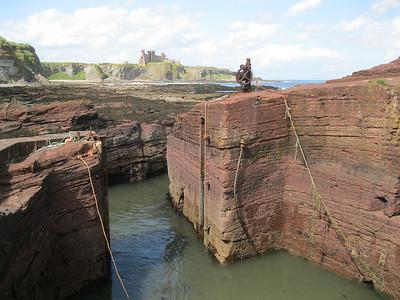 Seacliff Harbour - UK's smallest harbour