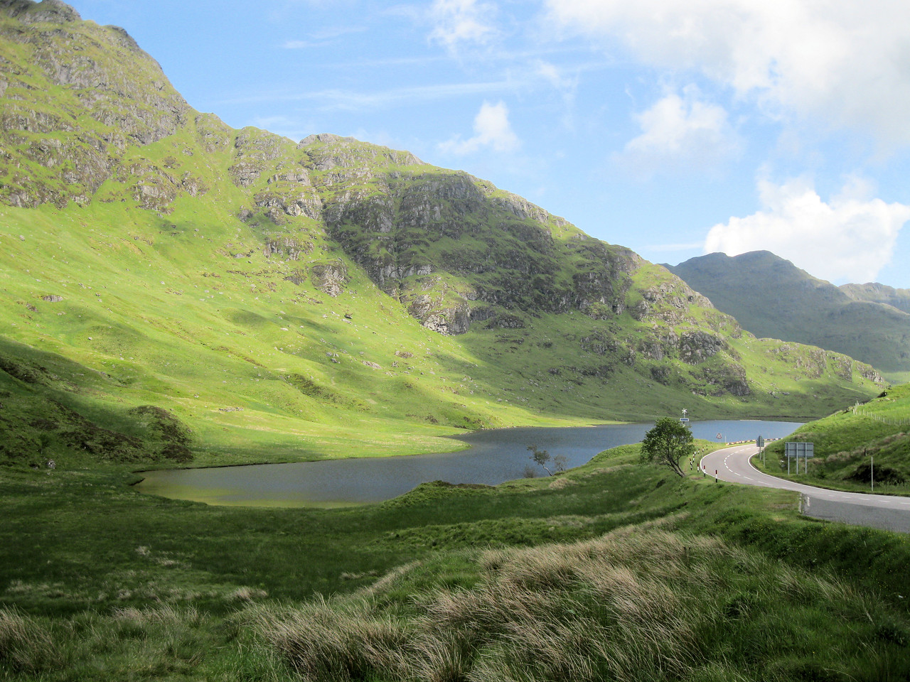 Loch Restil and Glen Kinglas from Rest and be Thankful