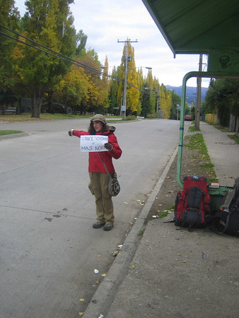 Hitchhiking on Carretera Austral, Chile