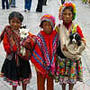 Little girls in Cusco
