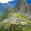 The ancient Incan fortress of Machu Picchu