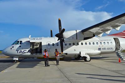 First of many flights on Taca