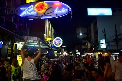 Khao San Road on a Saturday night