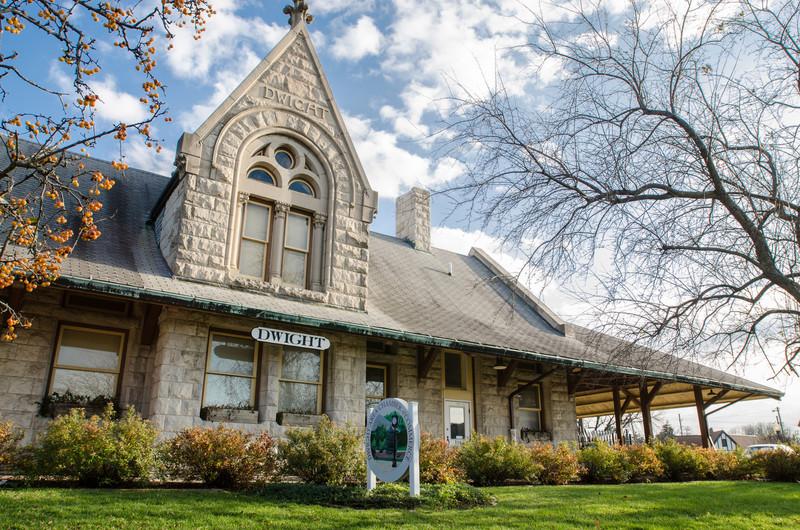 Dwight Train Station