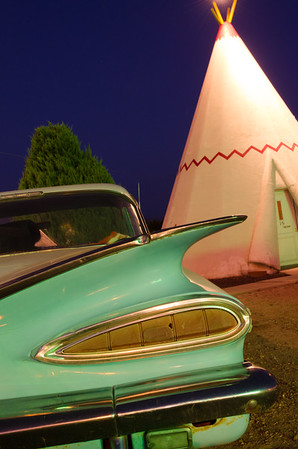 50's Fins at The Wigwam Village