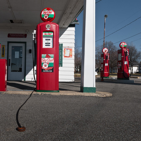 Ambler's Texaco Gas Station