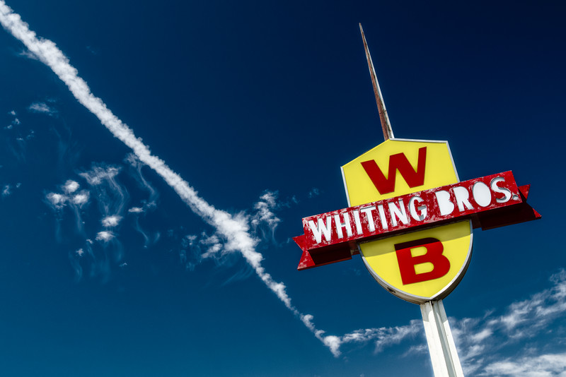 Moriarty Whiting Brothers Gas Station Sign